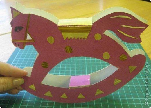 Игрушка из бумаги лошадка своими руками
