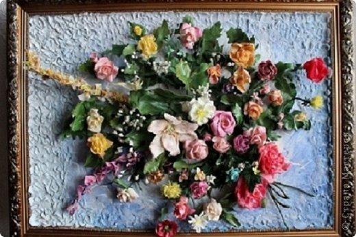 Мои первые цветы из ХФ фото 1