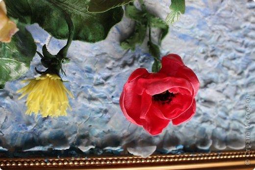 Мои первые цветы из ХФ фото 3