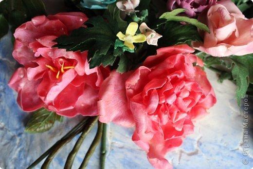 Мои первые цветы из ХФ фото 2