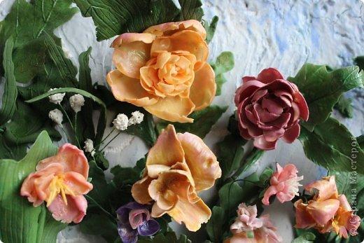 Мои первые цветы из ХФ фото 4