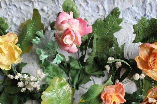 Мои первые цветы из ХФ фото 5