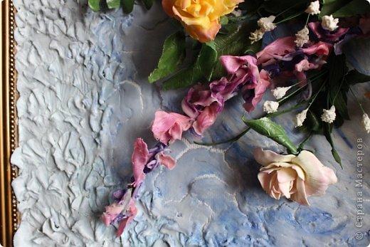 Мои первые цветы из ХФ фото 8
