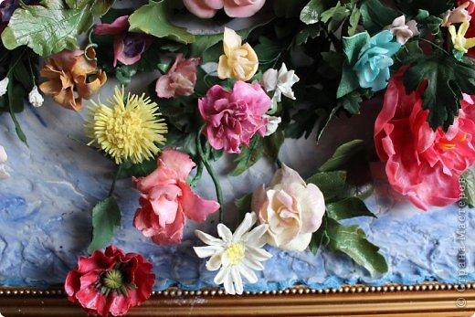 Мои первые цветы из ХФ фото 9
