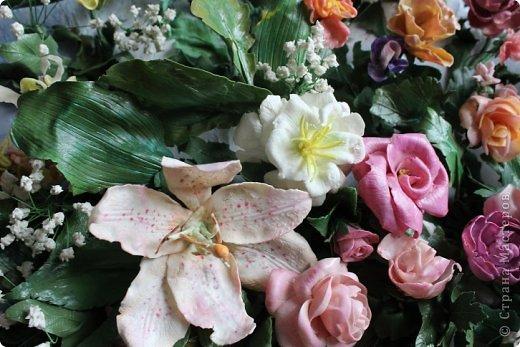 Мои первые цветы из ХФ фото 10