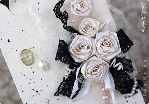 Маленькое черное платье и жемчужное ожерелье - вершина элегантности. Именно об этом моя открыточка. фото 2