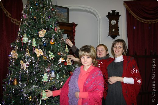"""В книге """"Русские узоры"""" эта шаль называлась- хризантемы. фото 19"""