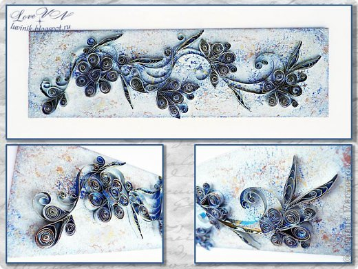 Картина панно рисунок Мастер-класс Квиллинг Необычный квиллинг из алюминиевой банки Мастер-класс Картон Краска Металл фото 1