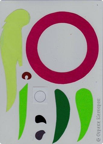 Зеленый попугай (подвеска). фото 3