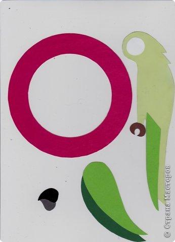 Зеленый попугай (подвеска). фото 4
