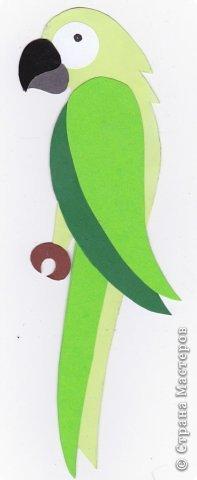 Зеленый попугай (подвеска). фото 5
