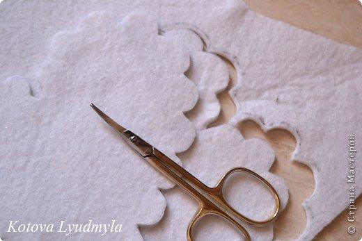 Мастер-класс Поделка изделие Шитьё Ароматные саше с лавандой Ленты Нитки Ткань Фетр фото 9