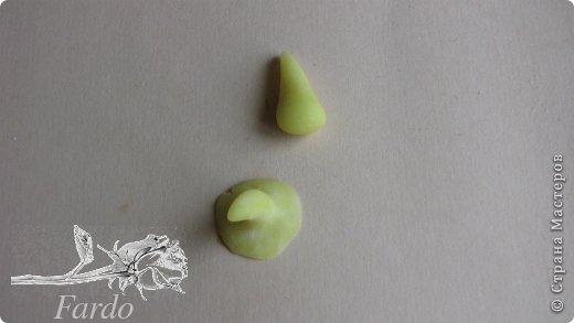 Мастер-класс Поделка изделие Лепка Настурция МК Фарфор холодный фото 7