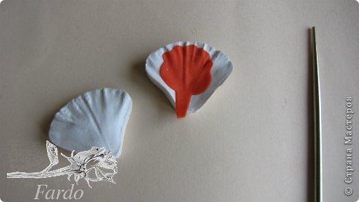 Мастер-класс Поделка изделие Лепка Настурция МК Фарфор холодный фото 15