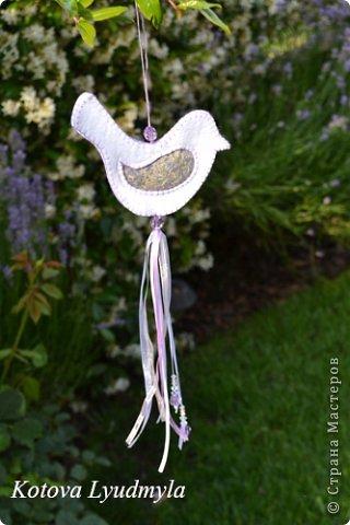 Мастер-класс Поделка изделие Шитьё Ароматные саше с лавандой Ленты Нитки Ткань Фетр фото 27