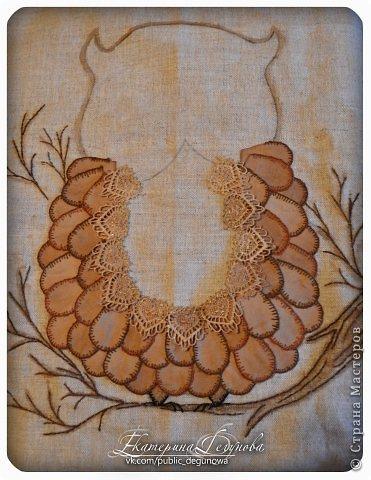 Гардероб Мастер-класс Аппликация Вышивка Шитьё Летняя сумка с аппликацией Совушка Нитки Пуговицы Ткань фото 21