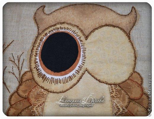 Гардероб Мастер-класс Аппликация Вышивка Шитьё Летняя сумка с аппликацией Совушка Нитки Пуговицы Ткань фото 24