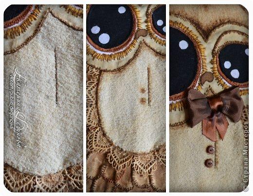 Гардероб Мастер-класс Аппликация Вышивка Шитьё Летняя сумка с аппликацией Совушка Нитки Пуговицы Ткань фото 28