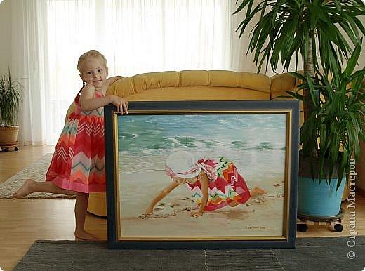 Здравствуйте! Познакомтесь, это моя дочь Лида, 32 года,(для её доченьки я делала мультяшных персонажей). Рисовать - её хобби. В Стране Мастеров зарегистрирована,   https://stranamasterov.ru/user/229475  но не может выставить картины, потому что по непонятным причинам у неё наша Страна Мастеров зависает. Покажу её картины в моём блоге и буду сюда добавлять следующие которые она ещё нарисует. фото 64