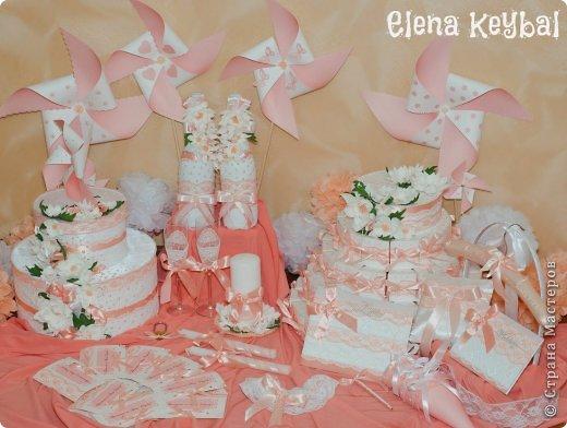 Декор предметов Свадьба Аппликация Моделирование конструирование Свадебные аксессуары для персиковой свадьбы Бисер Бумага Бусины Клей Краска