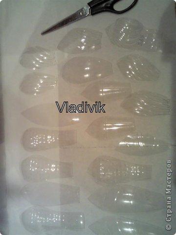 Мастер-класс Праздник осени Моделирование конструирование ПОДСОЛНУХ из ПВХ бутылок Бутылки пластиковые фото 9