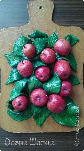 Панно-ягоды, яблоки. фото 5