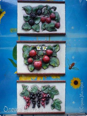 Панно-ягоды, яблоки. фото 1