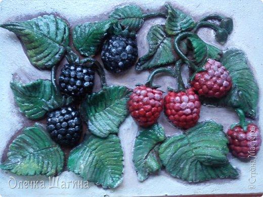 Панно-ягоды, яблоки. фото 2