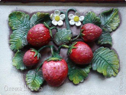 Панно-ягоды, яблоки. фото 3