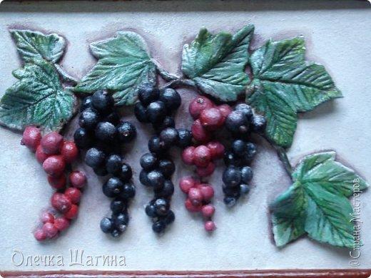Панно-ягоды, яблоки. фото 4