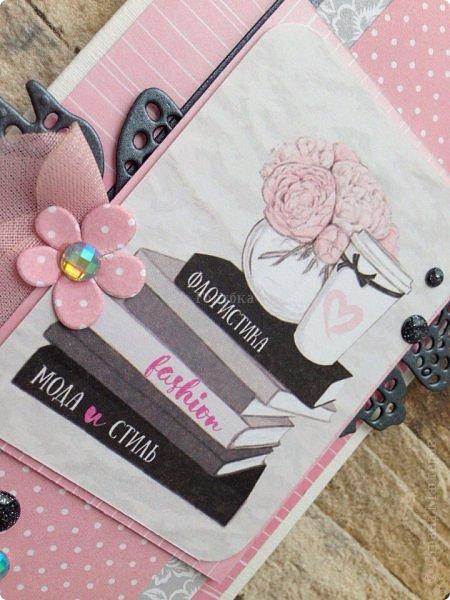 Вот такое у меня сегодня было розовое настроение под впечатлением от бумаги «АртУзор» фото 8