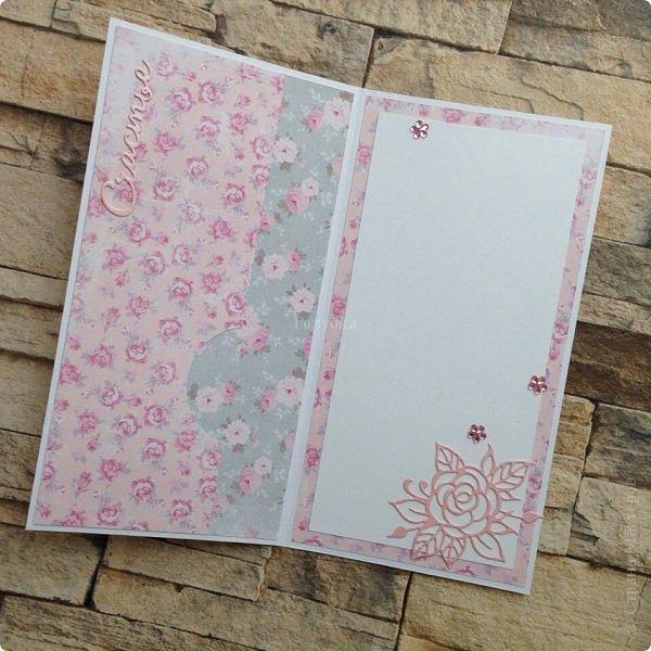 Вот такое у меня сегодня было розовое настроение под впечатлением от бумаги «АртУзор» фото 5