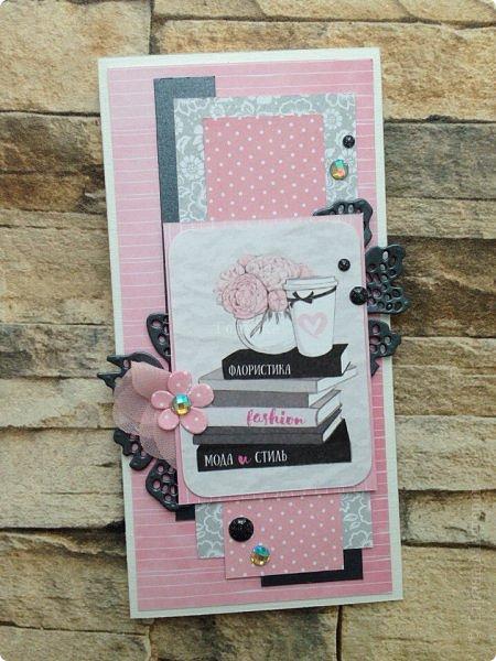 Вот такое у меня сегодня было розовое настроение под впечатлением от бумаги «АртУзор» фото 7