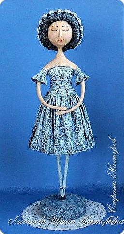 Для участия в очередном конкурсе у на с Аришкой родилась новая кукла. Образ балерины навеян легендарной прима-балериной Мариинского театра Анной Павловой.