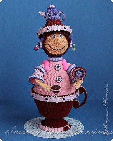 Разрешите вас познакомить - Кофеина Чаевна Молочкова. Большая любительница попить чайку-кофейку. При этом она еще и фея кофейно-чайных запасов. фото 2