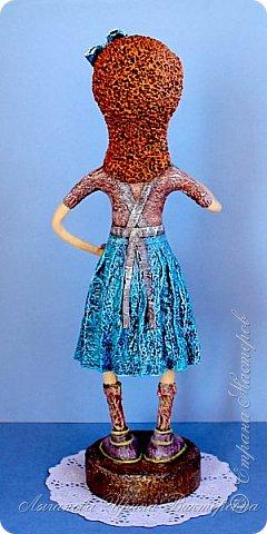 """""""Мамина радость"""" моя новая кукла  в технике папье-маше.  фото 3"""