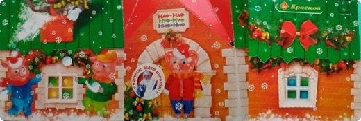 Новый Год! Наверное, единственный праздник (кроме дня рождения), когда дарят много сладостей.  Все они упакованы в качественную бумагу, картон  с красивыми рисунками. фото 2