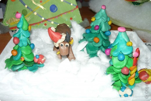 В Новогоднем лесу