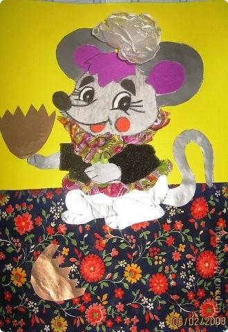 «Мышка, выполненная из конусов», «Бэтмен» фото 3