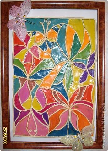 Эти бабочки - воспоминание о лете, о его красоте и  разнообразии  ярких  красок!!!    фото 1