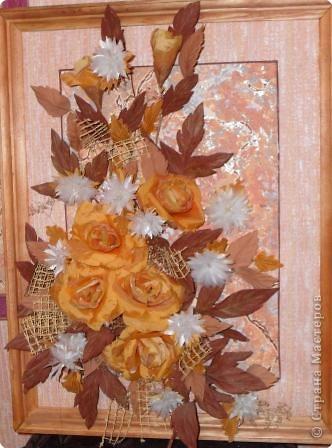 Люблю цветы, делаю их из разных материалов...это ткань...