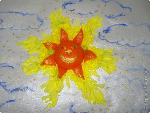 Апельсиновое солнышко