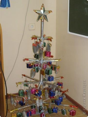 Серебряная елка