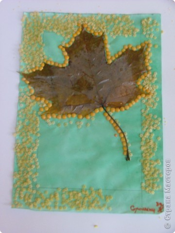 Изготовление картины с использованием природного материала.  фото 8