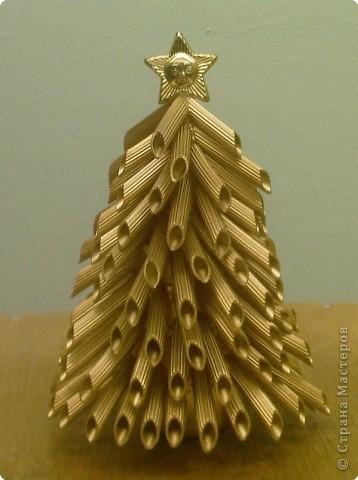 Макаронная елочка