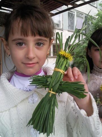 У куколки Полинки -  волосики - травинки фото 1