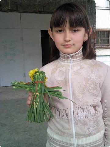 У куколки Полинки -  волосики - травинки фото 2