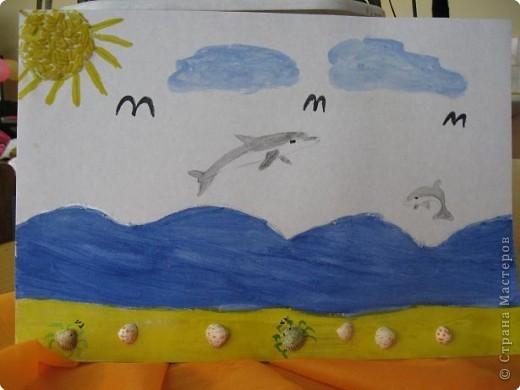 Синее море фото 1