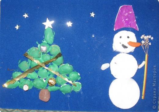 Снеговик - волшебник фото 1