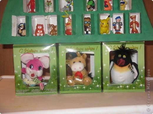 Домик для игрушек фото 3
